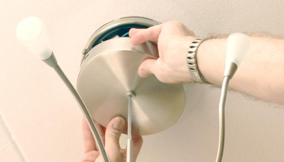 EnergieVeilig | Klussen (lamp ophangen) | Stap 10/11