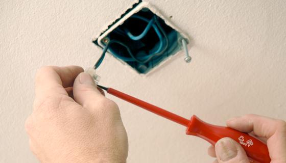 EnergieVeilig | Klussen (lamp ophangen) | Stap 6/11