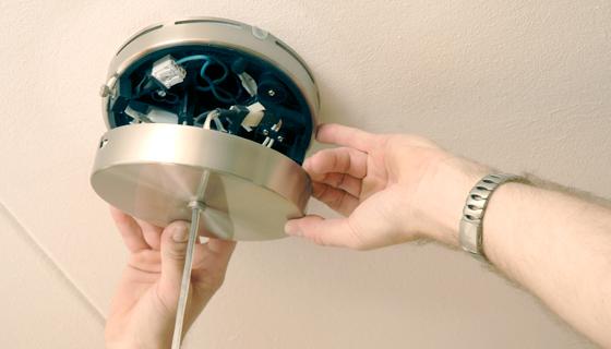 EnergieVeilig | Klussen (lamp ophangen) | Stap 9/11
