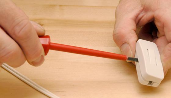 EnergieVeilig | Klussen (schakelaar monteren) | Stap 1/10